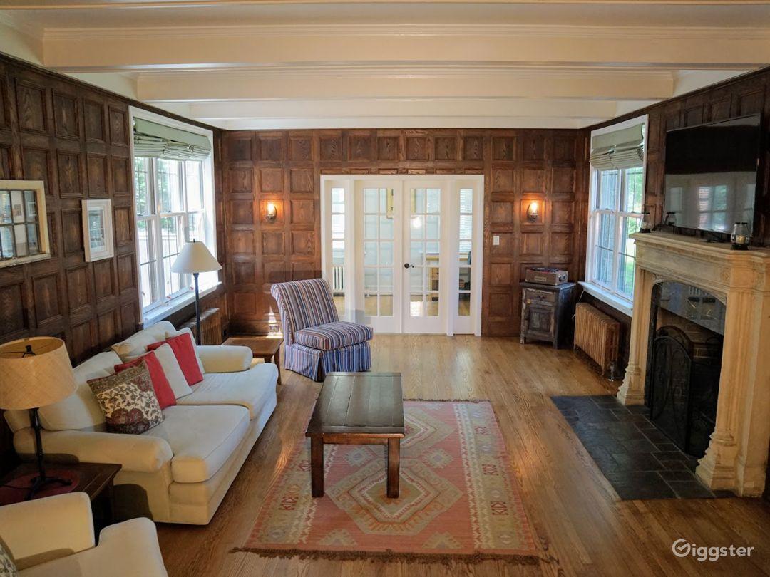 Dining Room (wood panels)