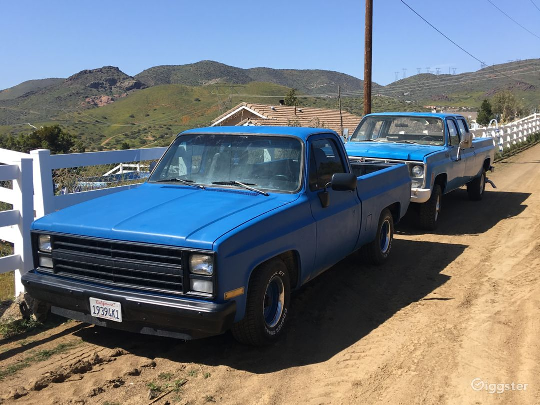 Squarebody crewcab 4x4 longbed original classic Photo 1
