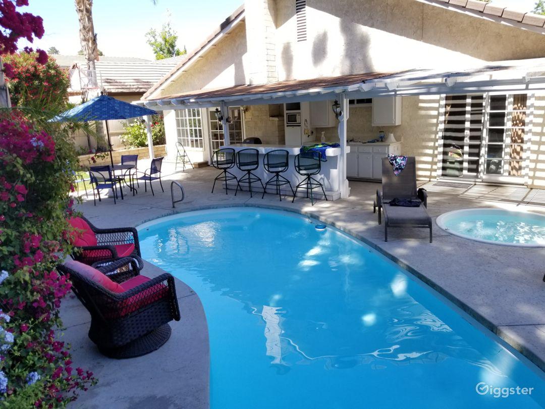 Backyard Beach House in Santa Clarita Photo 4