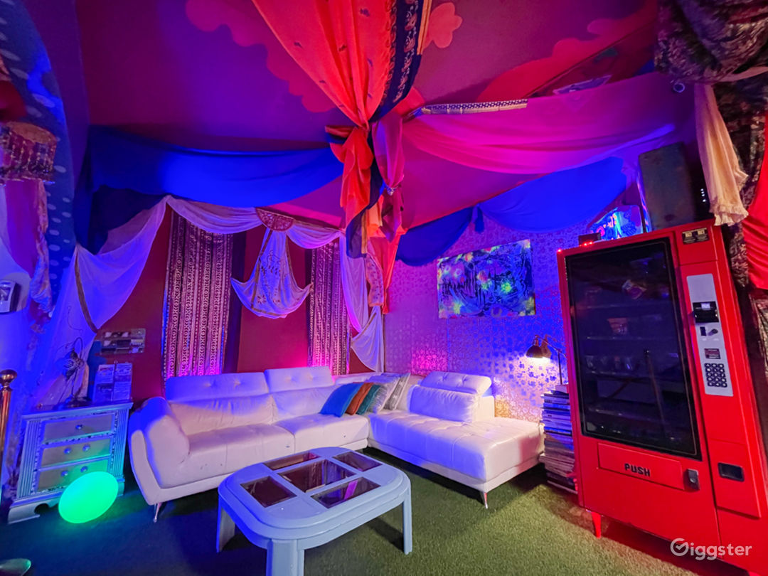 The Bohemian room is our lounge area