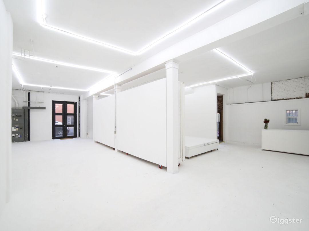 Spacious DTLA Gallery & Studio with Cyclorama Photo 1