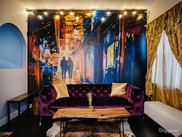 Beautiful murals for the perfect backdrop