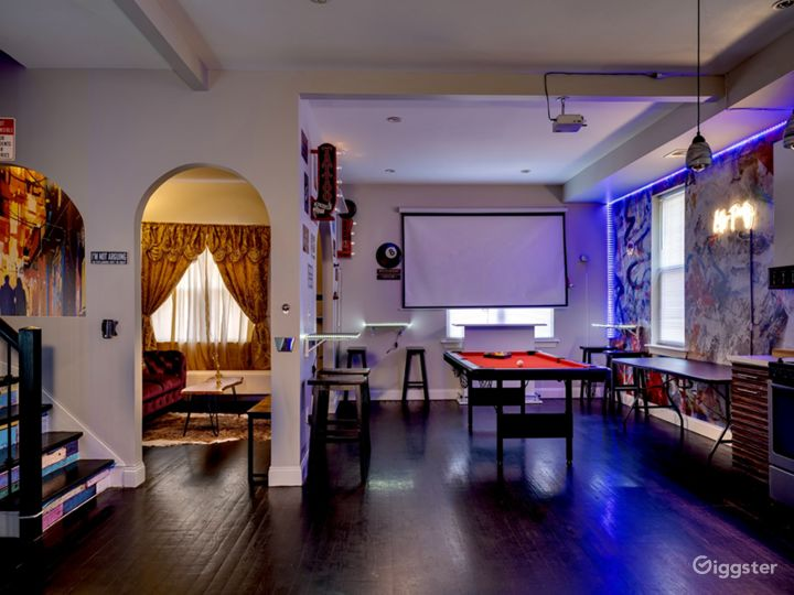 Projectors and Pool Tables