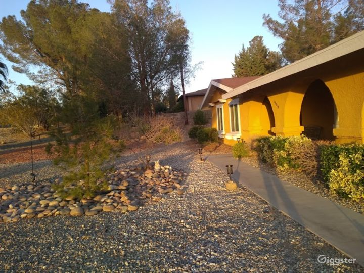 1970's Yellow House with Arches Photo 4