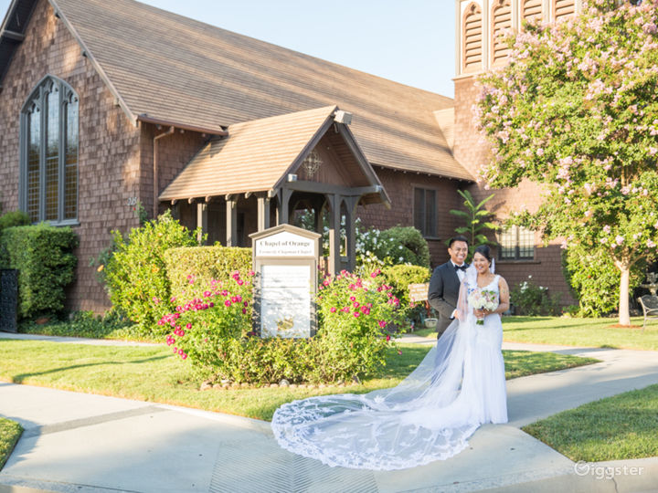 The Gothic style chapel is the perfect setting for a wedding or your loved one's send off.