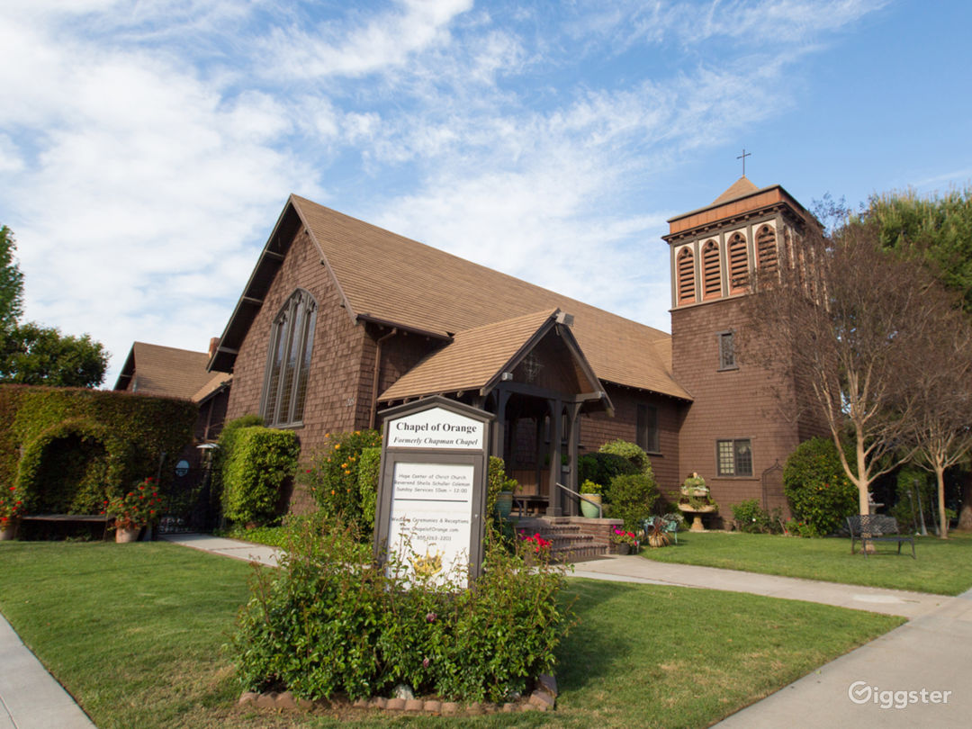 The Chapel of Orange, located in the heart of old towne Orange.  Built in 1909, it's #620 on the National Historical Registry