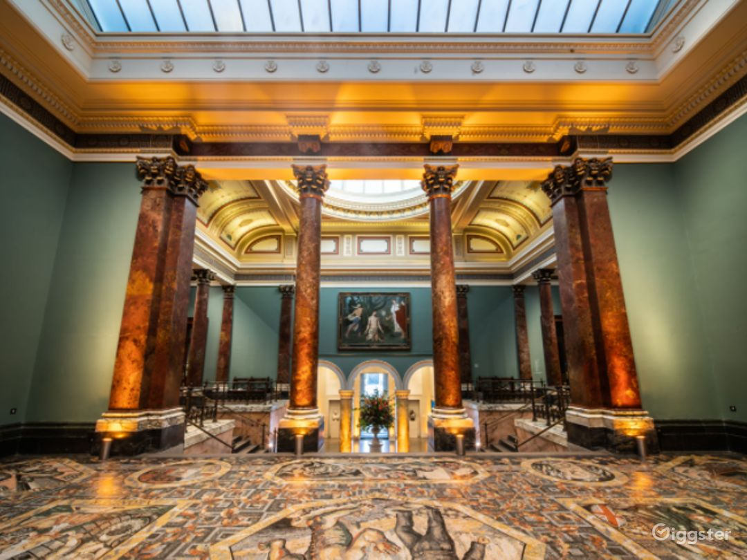 Mosaic Terrace in The National Gallery, London Photo 1