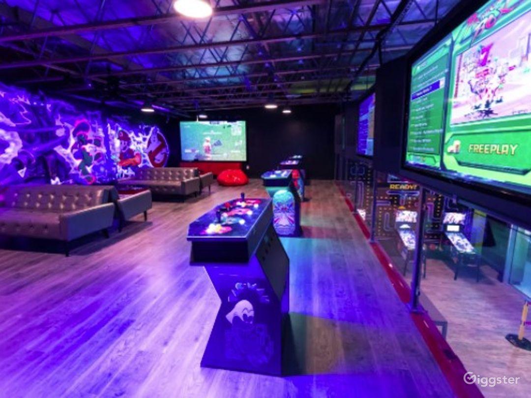 Retro gaming arcade venue for all occasions Photo 1