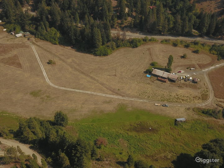 Aerial View of Entire Ranch