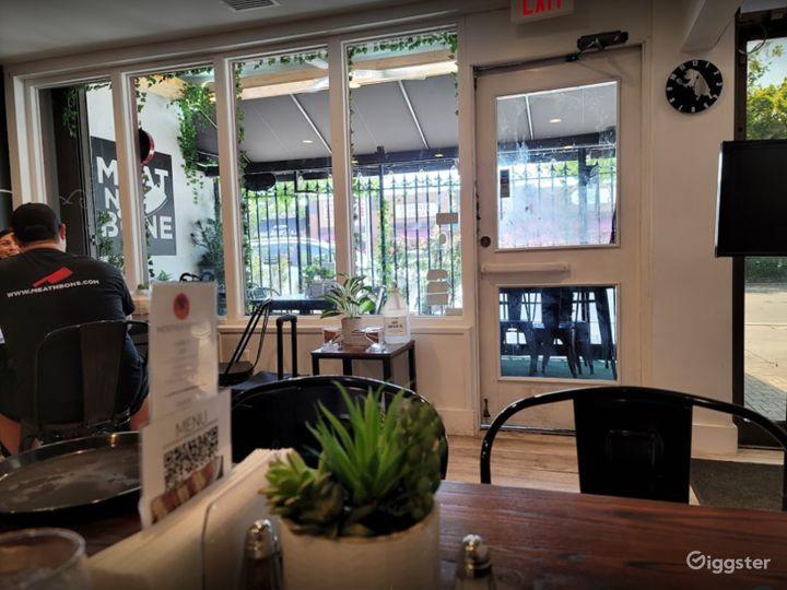 Indoor Casual yet Elegant Steak Bar for Events in Miami Florida