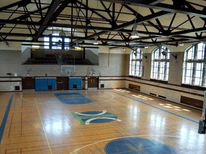 Basketball gym and facility: Location 4249 Photo 2