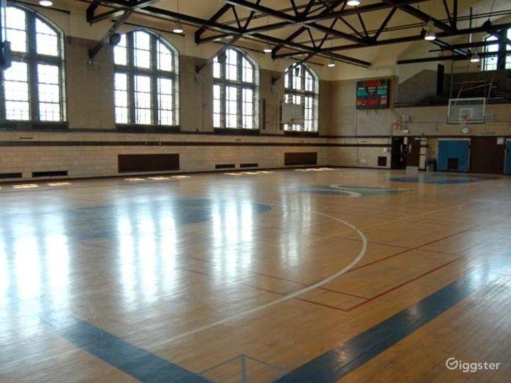 Basketball gym and facility: Location 4249 Photo 3