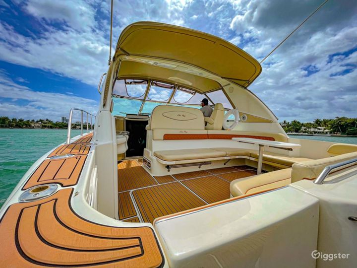 Marvelous 40FT Sea Ray Rosbel Party Yacht Space Events  Photo 3