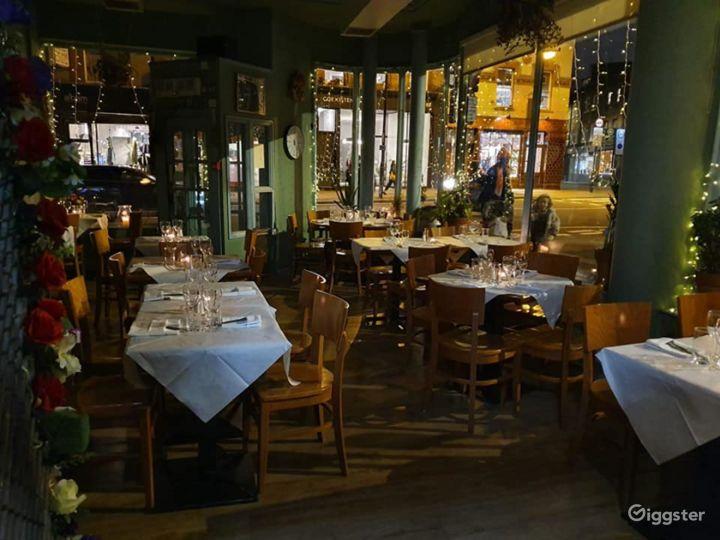 Amazing Ground Floor French Restaurant in London Photo 5
