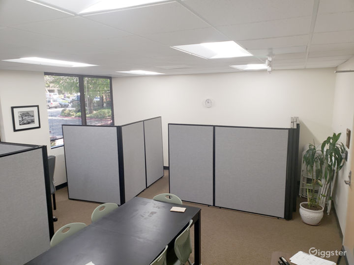 Coworking Space with Privacy Options