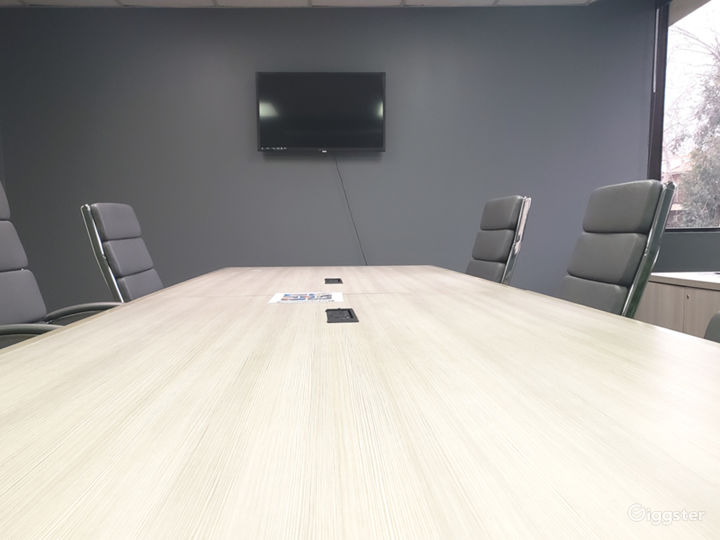 Conference Room and table with TV hookups and Ethernet at officeLOCALE