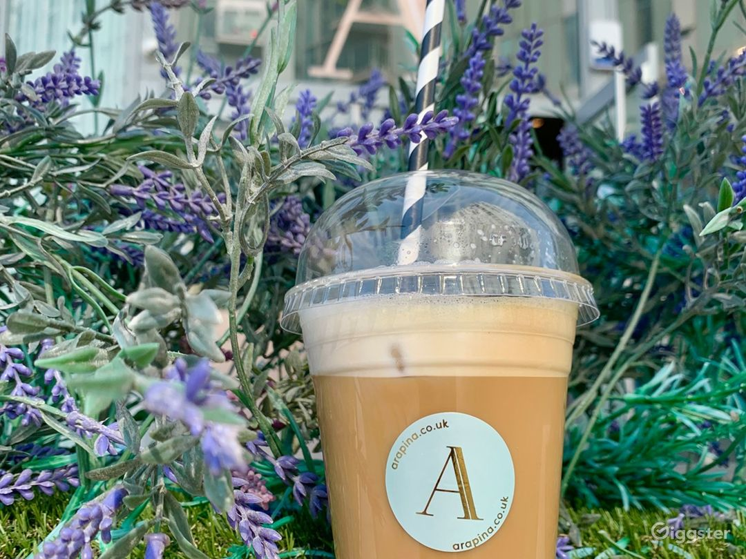 Bright Outdoor Patio and Healthy Lifestyle Bakery Photo 1