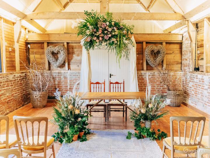 Ceremony Room and Dance Floor
