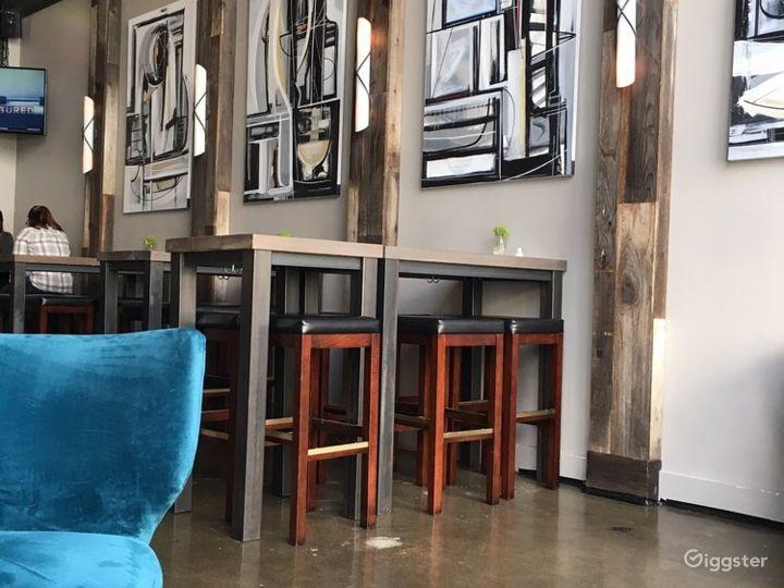 A Modern-industrial interior Wine Bar in Sacramento Photo 5