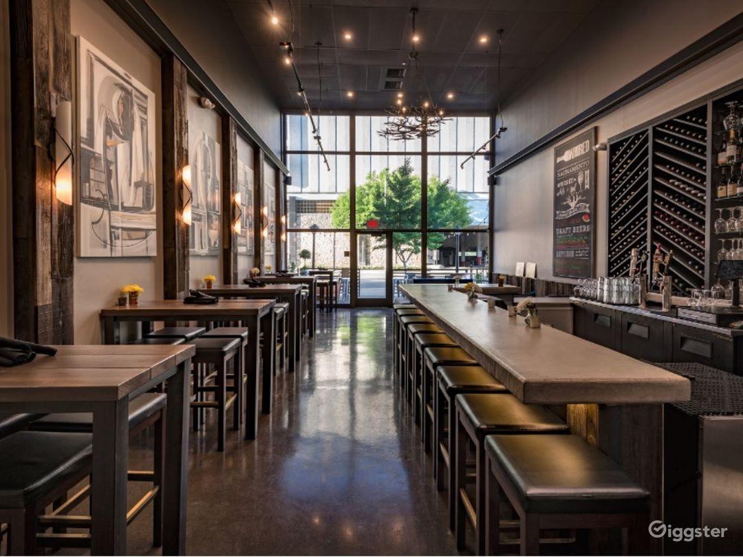 A Modern-industrial interior Wine Bar in Sacramento Photo 1