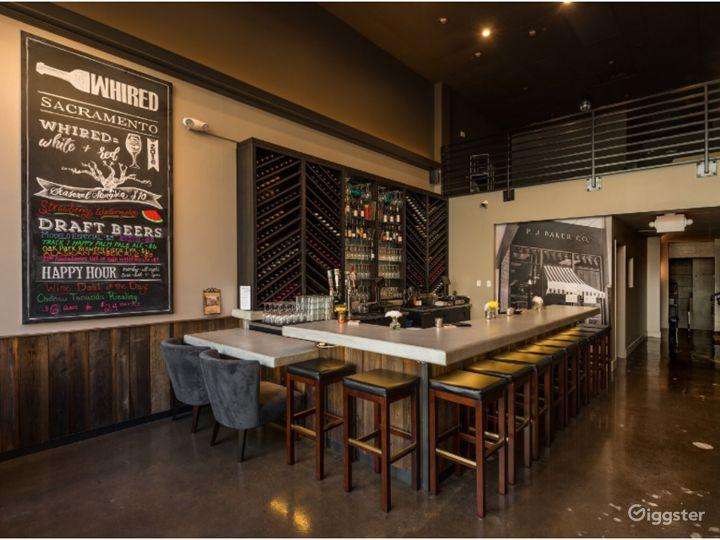 A Modern-industrial interior Wine Bar in Sacramento Photo 2