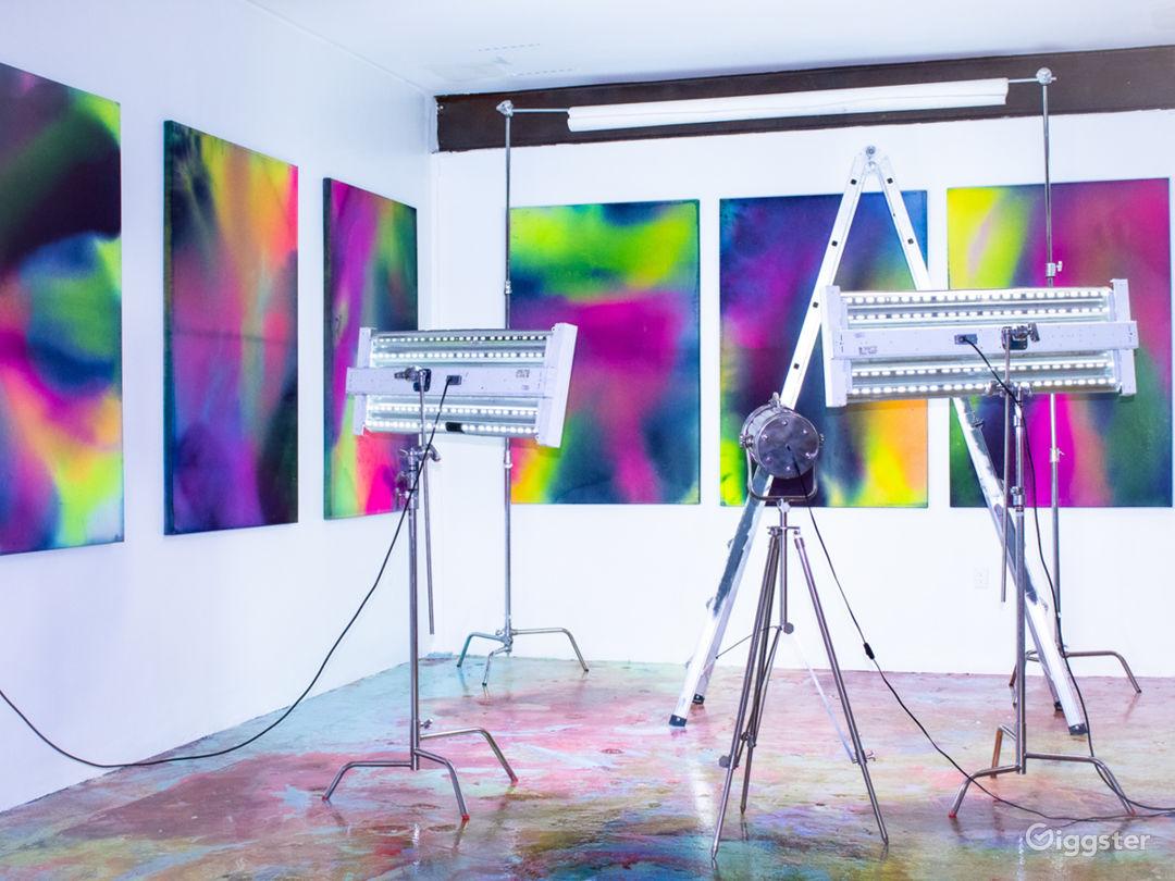 DTLA Creative Studio with indoor/outdoor space for Photo 1