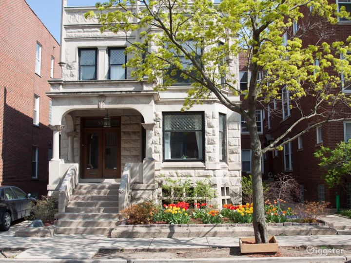 Classic large greystone in historic Uptown area