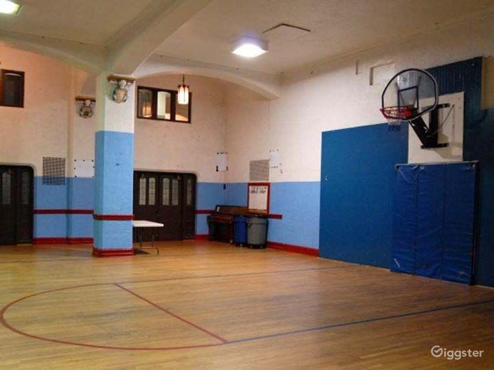 School basketball gym and facility: Location 4246