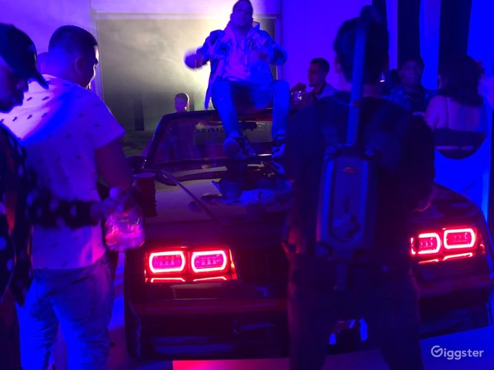 Music Video w/Car in the building!