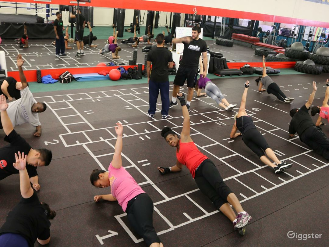 Boxing and martial arts gym Photo 5