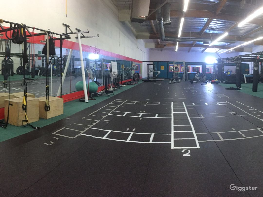 Fitness area/ conditioning