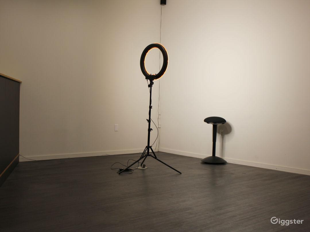 photo studio set up available