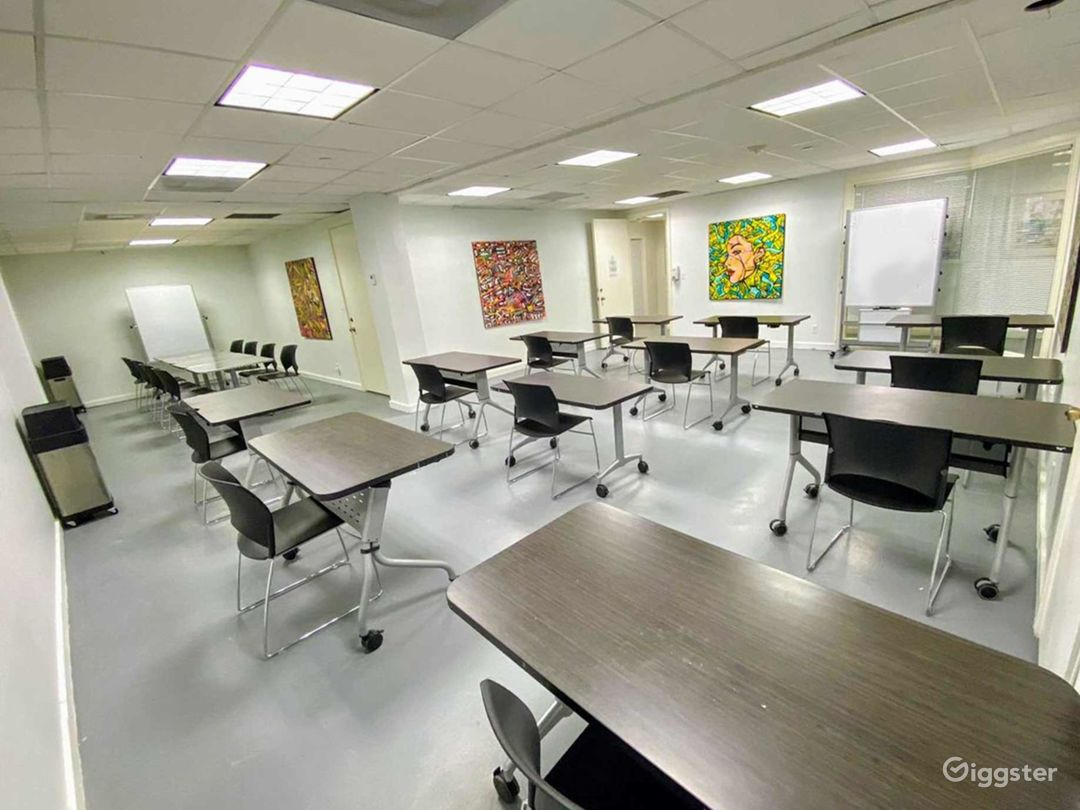Flexible Training & Meeting Room in Downtown Miami Photo 1