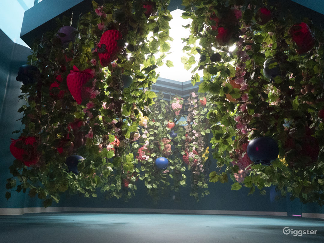 Beautiful Fruit-Themed Immersive Experience Space Photo 3