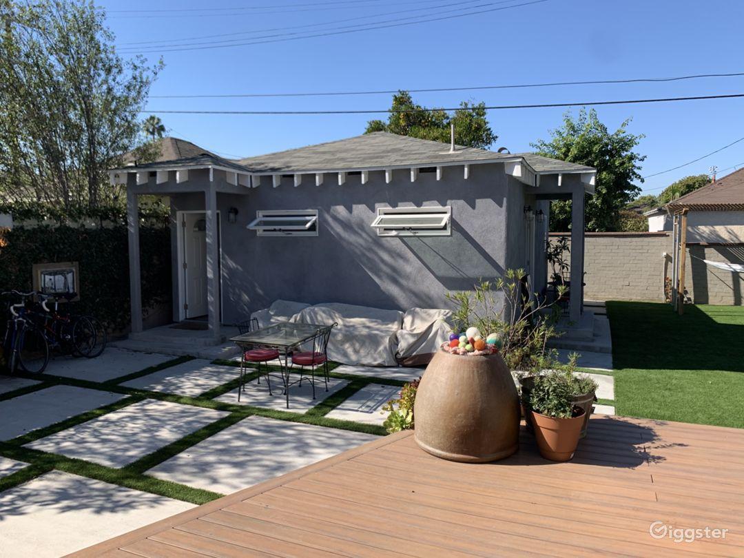 Backyard and ADU