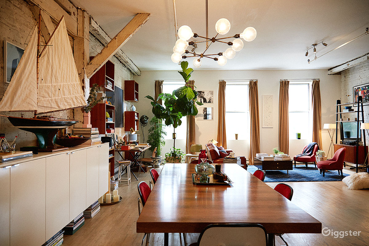 Ious Little Italy Loft Residential Filming Location In New York Ny 10012