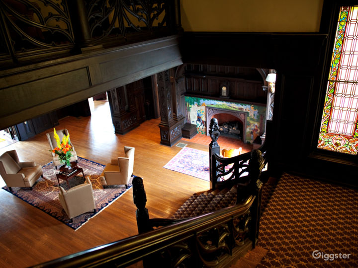 Lobby of Mansions on Fifth Hotel