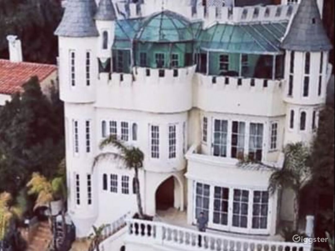 Castle from Drone