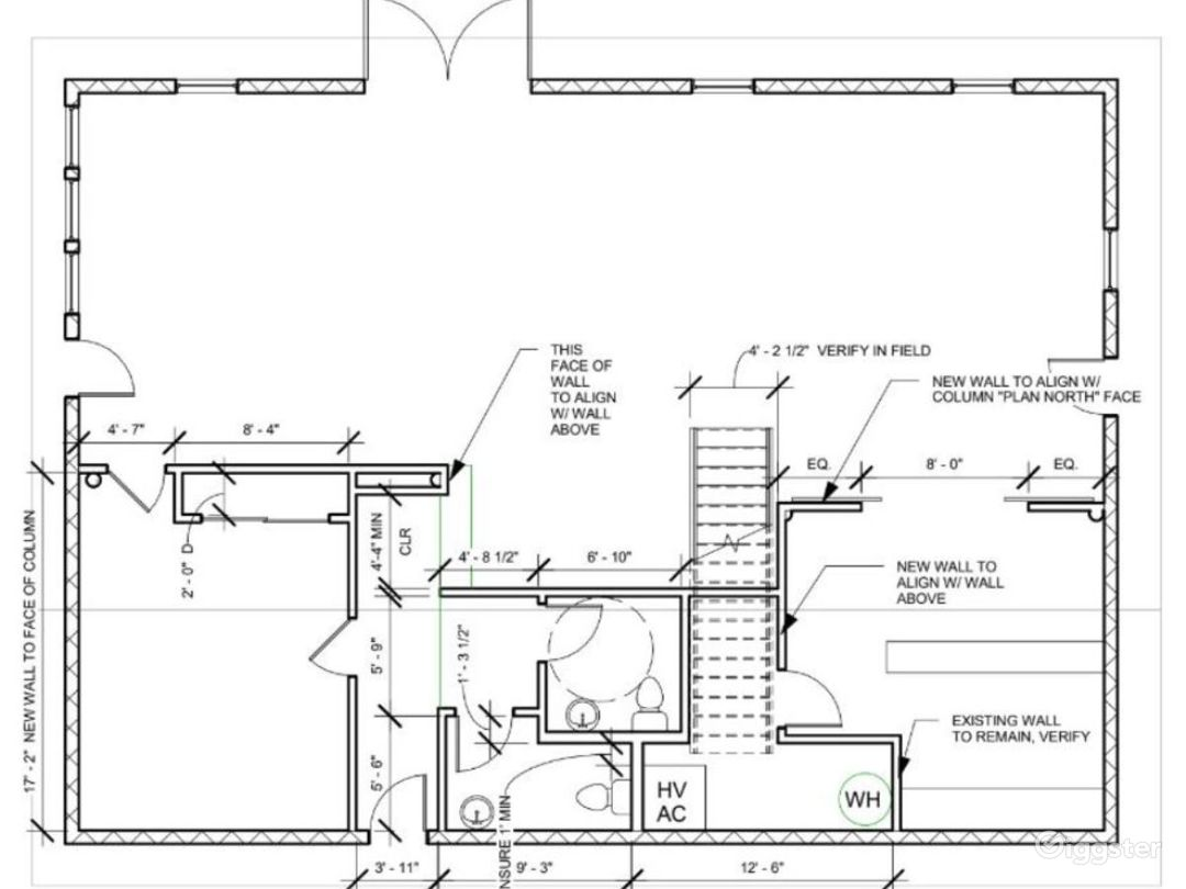 Event Hall Floor plan
