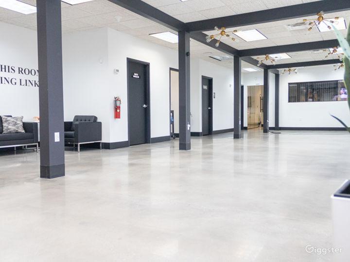 Event Hall + Modern Lounge and Café Area Photo 3