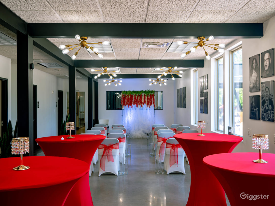 Event Hall + Modern Lounge and Café Area Photo 1
