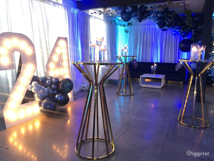 Event Hall + Modern Lounge and Café Area Photo 4