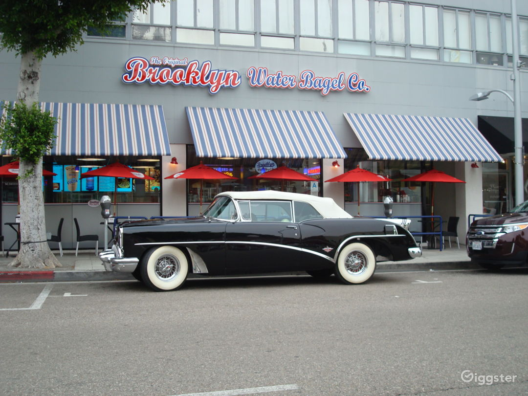 Classic 1954 Buick Skylark Convertible in Black Photo 3