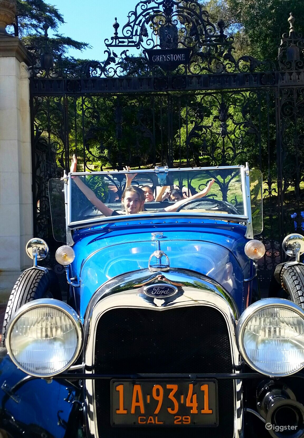 Rent 1929 Ford Model A convertible Car (transportation) for film ...