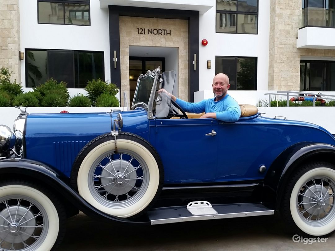 1929 Ford Model A convertible Photo 1