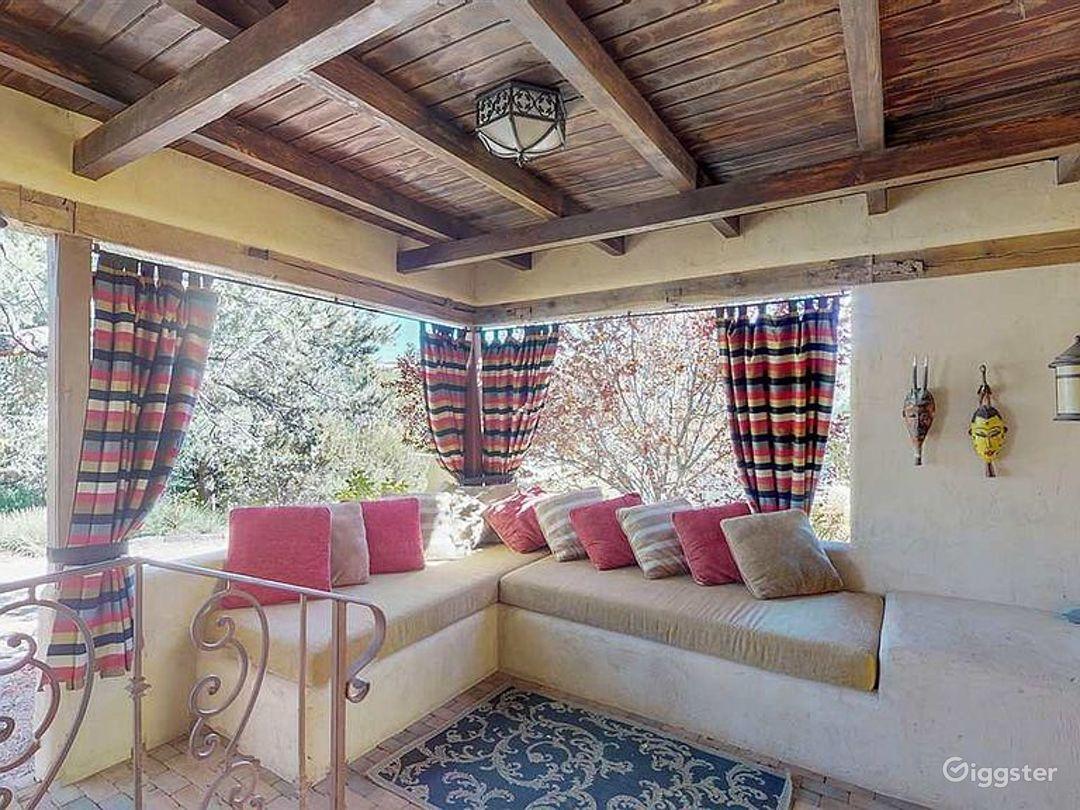 Luxurious Southwestern Grand Tuscan Adobe Photo 3