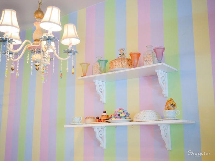 Enchanted Dollhouse Themed Tea Room Photo 4