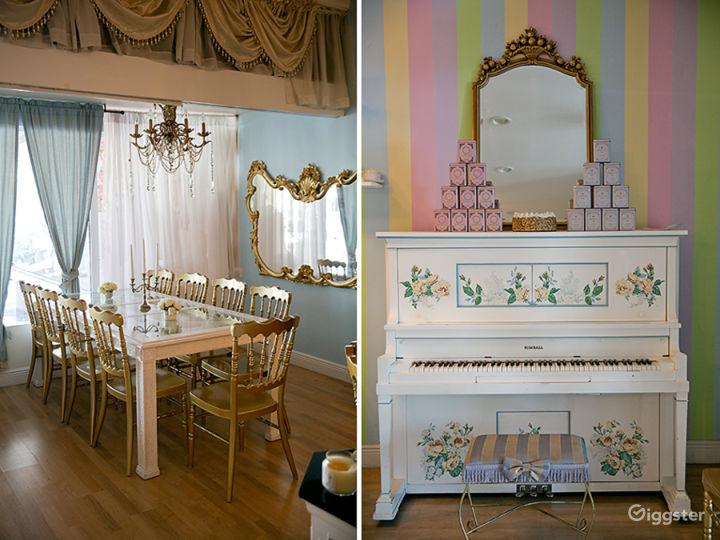 Enchanted Dollhouse Themed Tea Room Photo 5