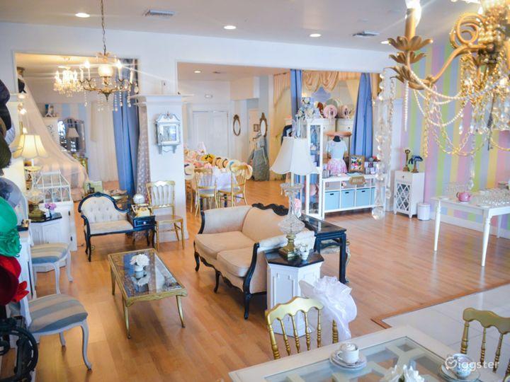 Enchanted Dollhouse Themed Tea Room Photo 2