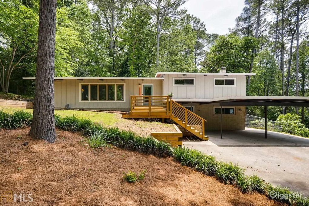 Rare Classic Mid-Century Home Atlanta Rental